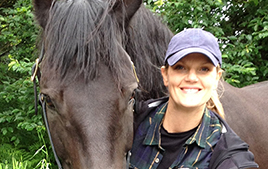 Justine Harrison, Certified Horse Behavior Consultant
